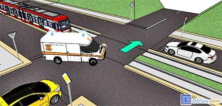 vozilo sa prvenstvom prolaza - hitna pomoc